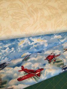 Wingman fabric