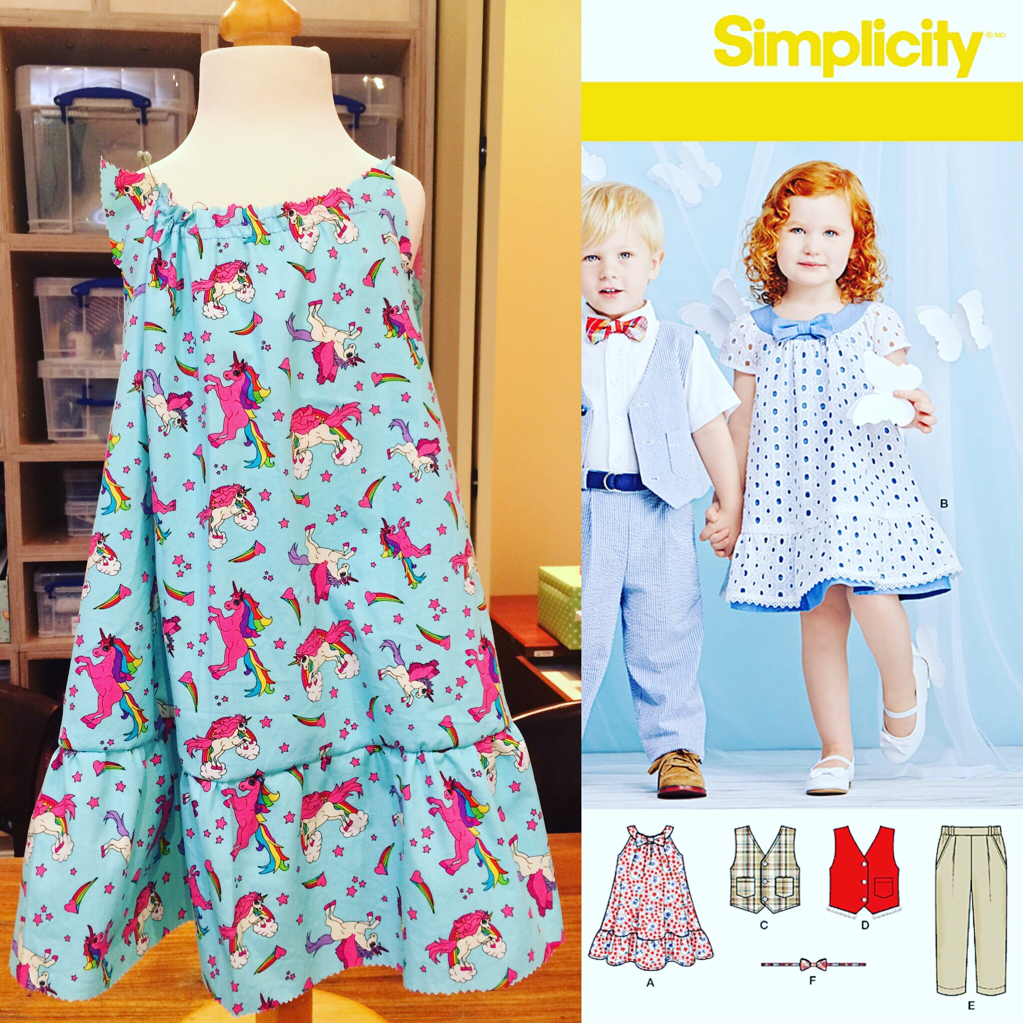 Simplicity sewing challenge 2016