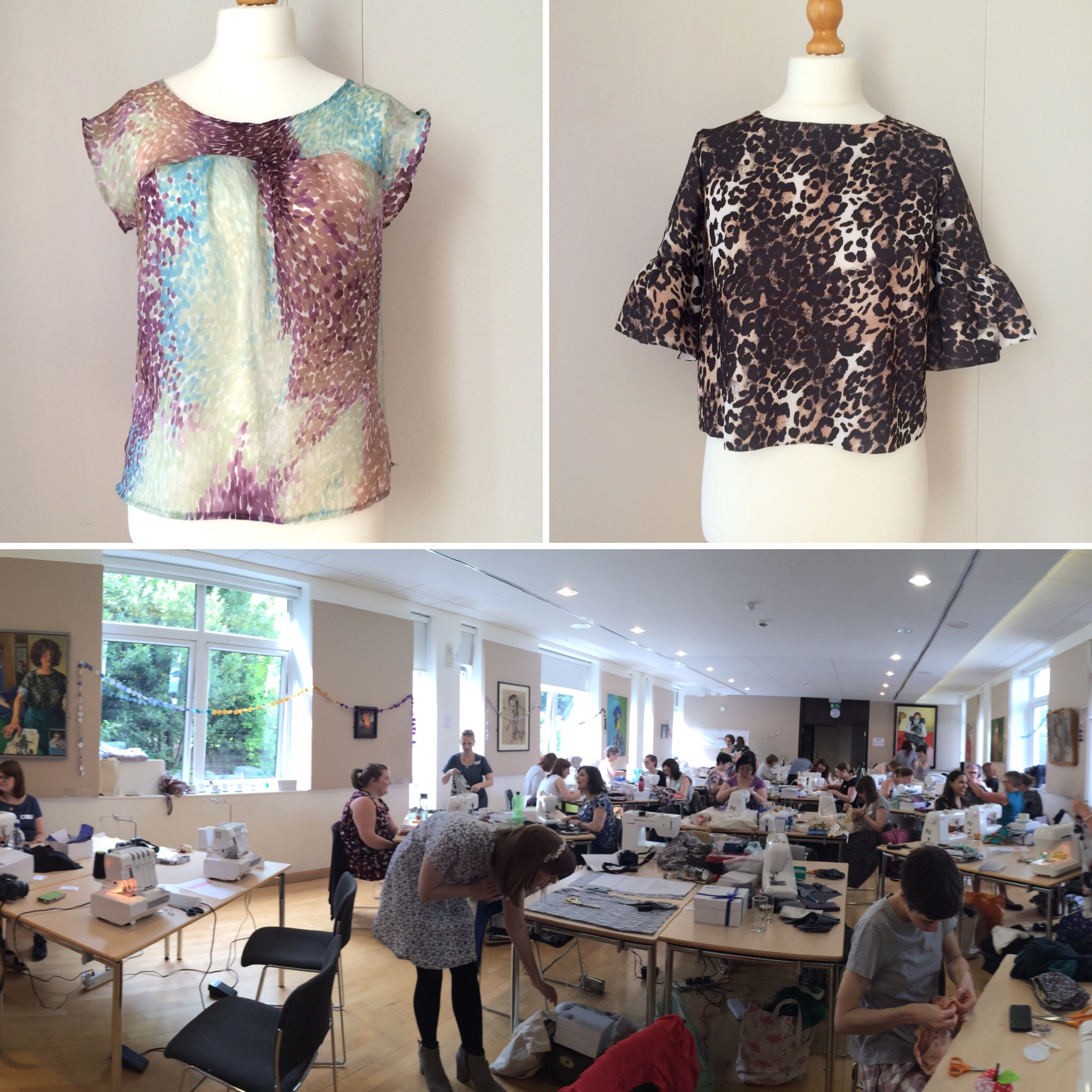 Sewing weekender and Urban Seamstresses makes