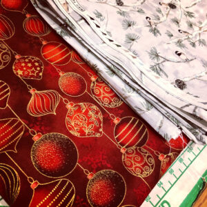 Christmas fabric from John Lewis