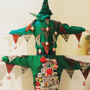Up cycled christmas jumper